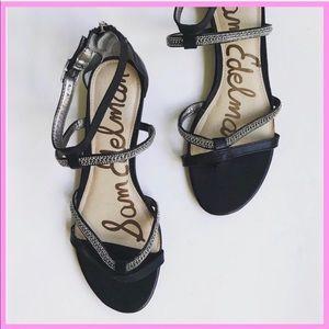 "SAM EDELMAN | ""Renee"" Chain Gladiator Sandals"